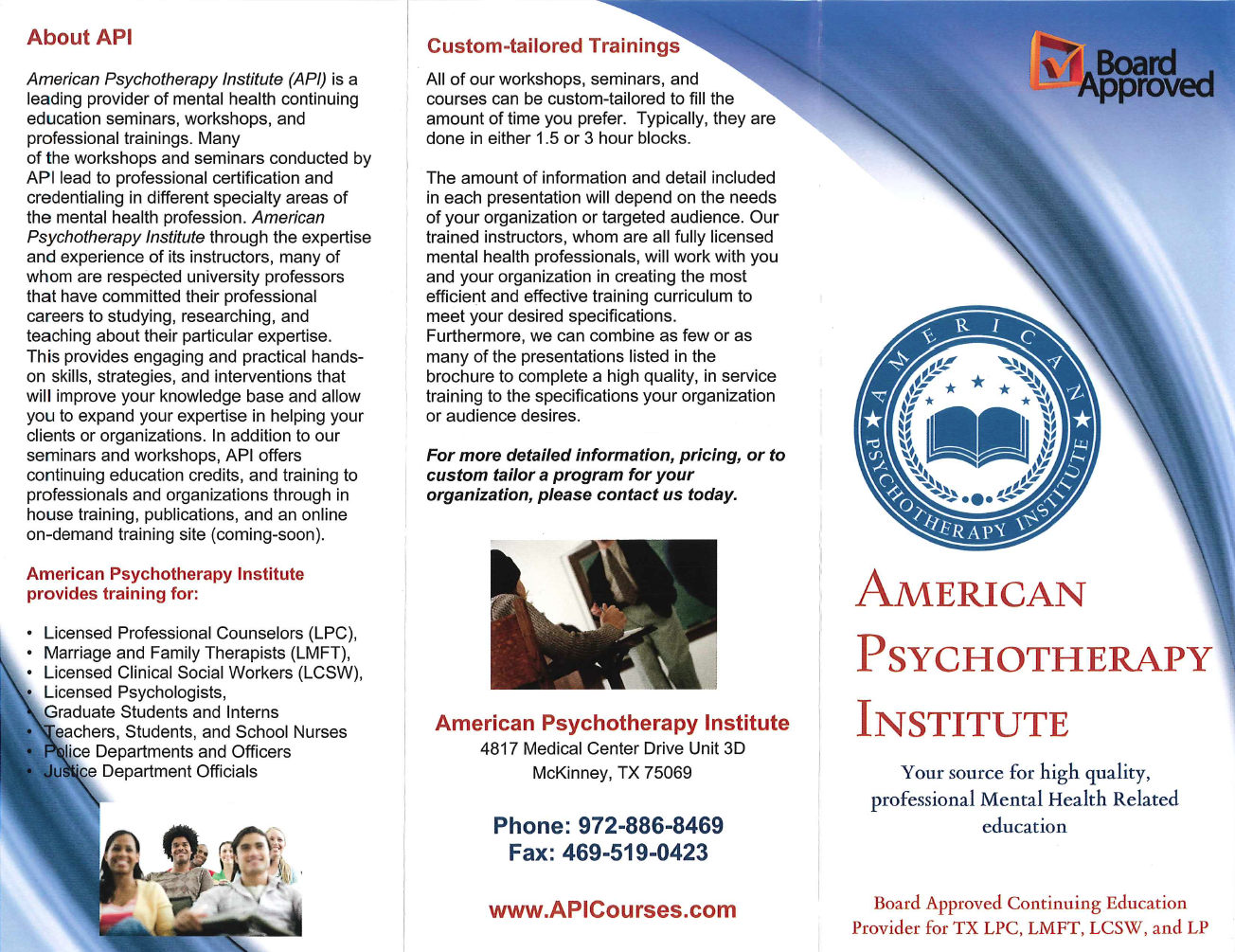 Psychotherapy Continuing Education Credits  a8b84b6fc2110
